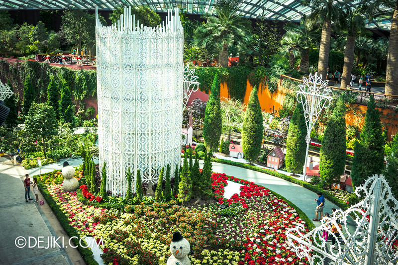 Gardens by the Bay - Yuletide in the Flower Dome - The Tower