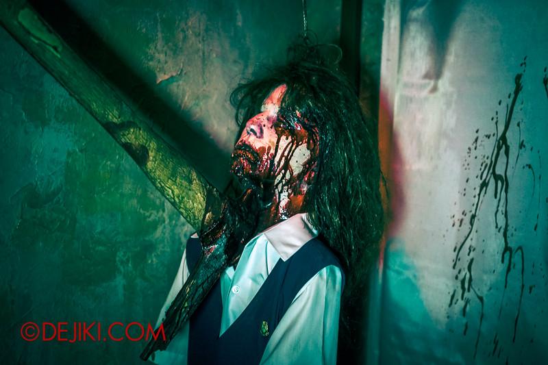 Halloween Horror Nights 4 - Jing's Revenge haunted house - Jing's Revenge, fulfilled