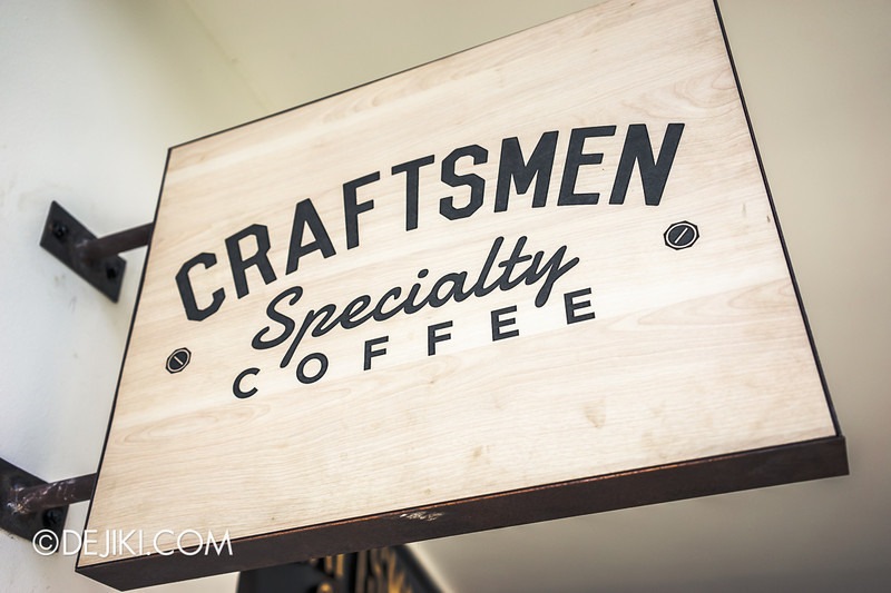Craftsmen Specialty Coffee - 1 / Signage