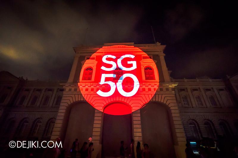Singapore Night Festival 2015 - The Anooki Celebrate Singapore / Blood Moon SG50