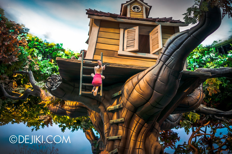 Tokyo Disneyland - Pooh's Hunny Hunt, Treehouse