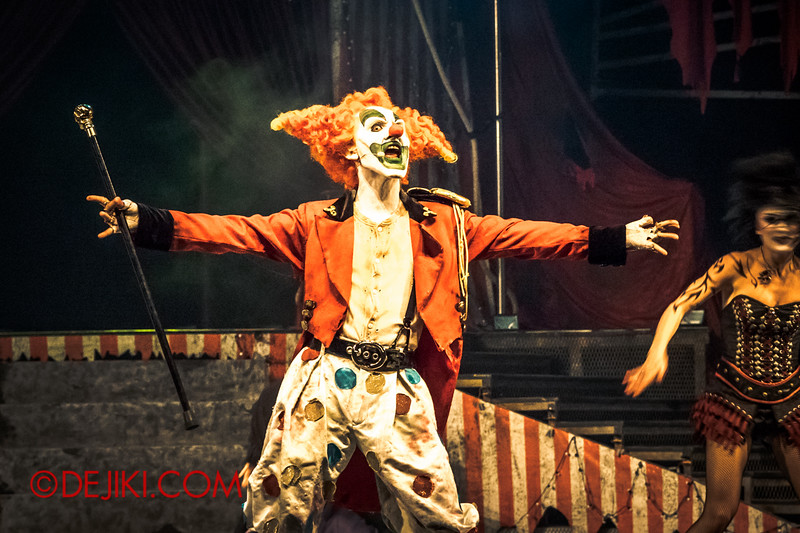 Halloween Horror Nights 4 - Jack's Nightmare Circus - Jack appears