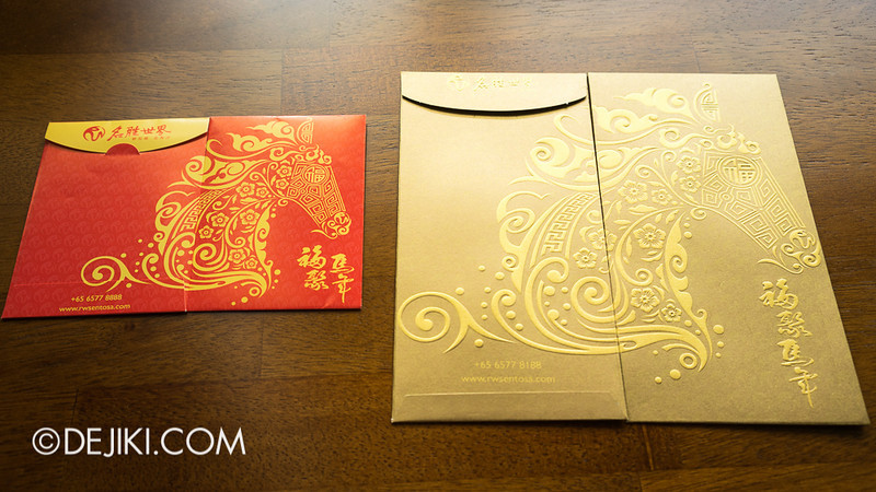 Universal Studios Singapore - Giveaway and RWS Red packets