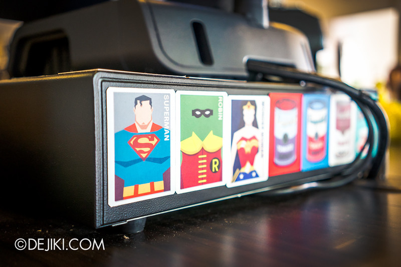 Yellow Cup Coffee 6 - Superhero Cards