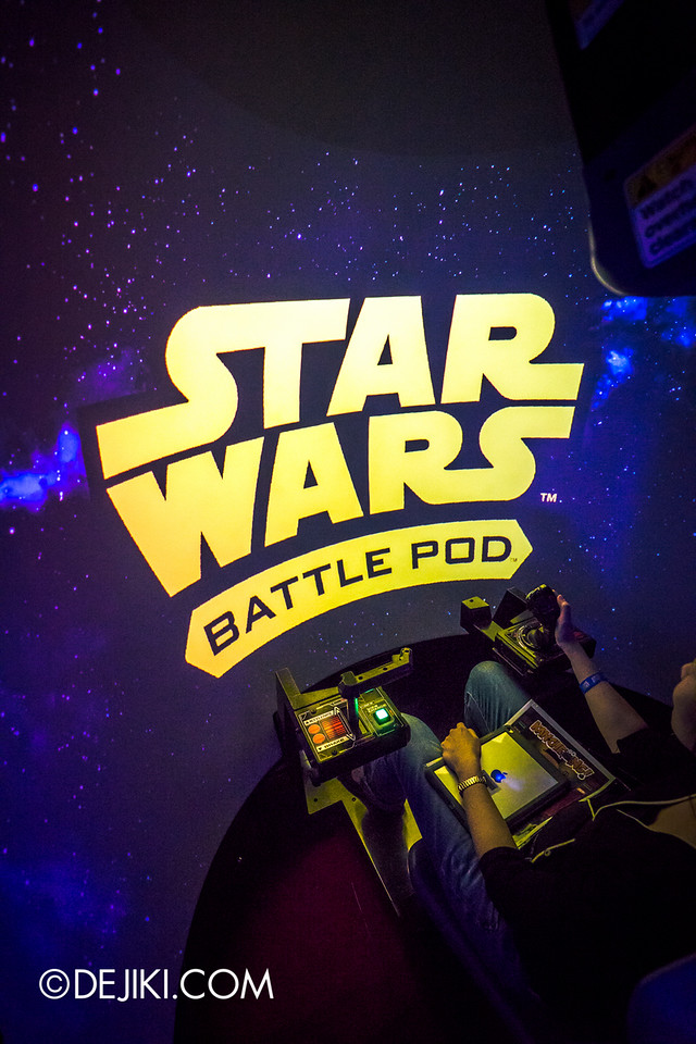 GameStart 2015 - STAR WARS BATTLE POD / a peek inside