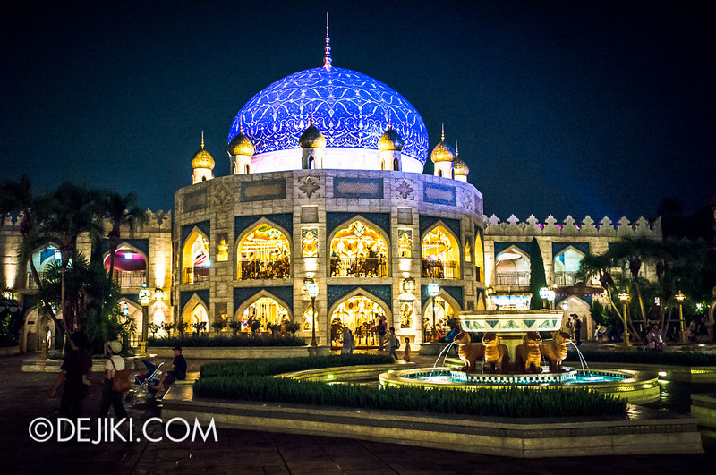 Arabian Coast at night - Caravan Carousel