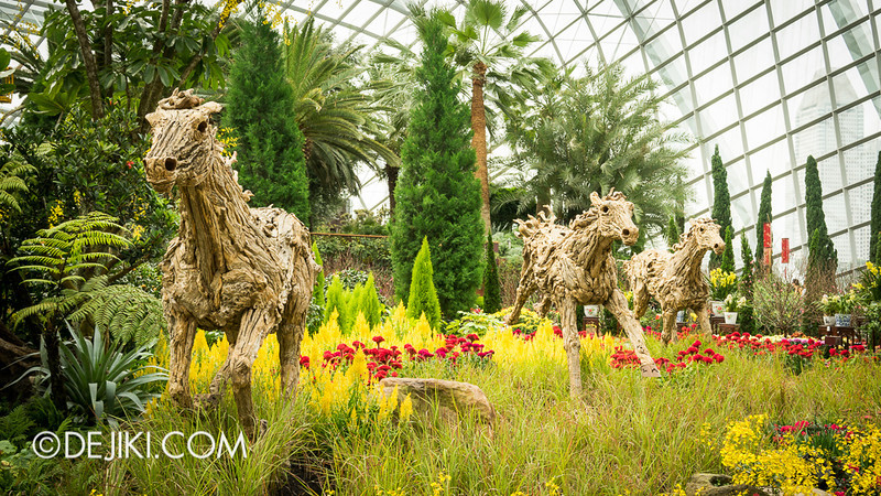 Gardens by the Bay - Year of the Horse Floral Display 25
