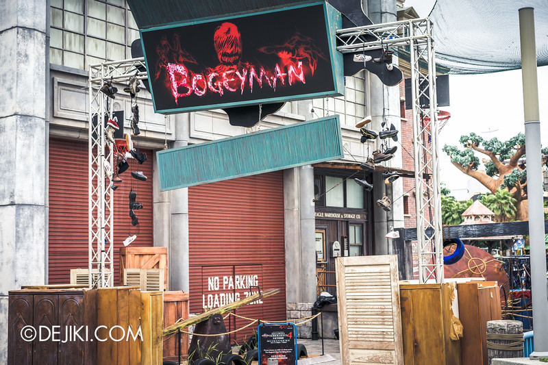 Halloween Horror Nights 4 Singapore - Before Dark 2 - Bogeyman scarezone 1
