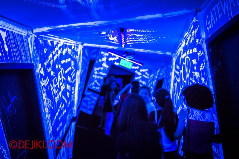 Sentosa Spooktacular 2014 - COUNTDOWN Haunted House / 3D maze - distorted world 1