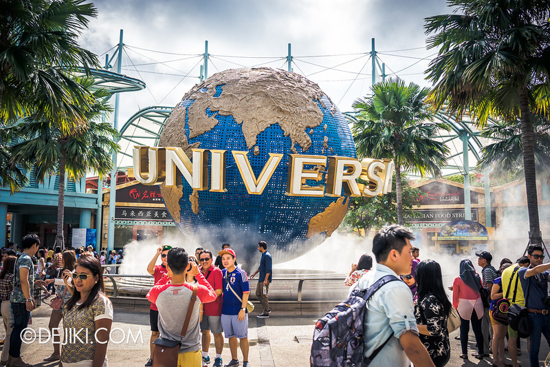Universal Studios Singapore - Park Update June 2014 - The Globe