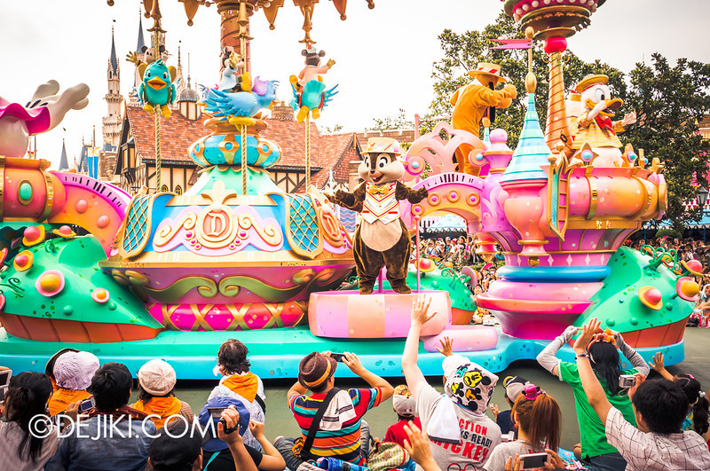 Tokyo Disneyland - Happiness is Here Parade 38 / Grand Finale, Carousel, Chip