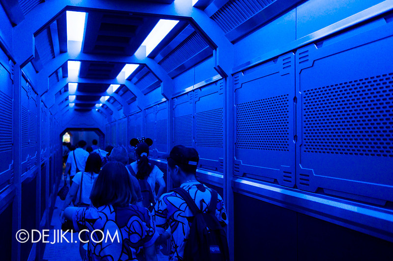 Star Tours: The Adventures Continue, after the ride
