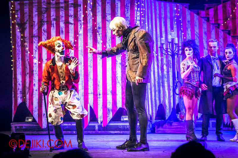 Halloween Horror Nights 4 - Jack's Nightmare Circus - Jack and Shorty