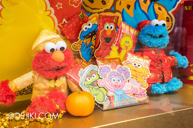 Universal Studios Singapore - Sesame Street-themed Chinese New Year Store Display 3
