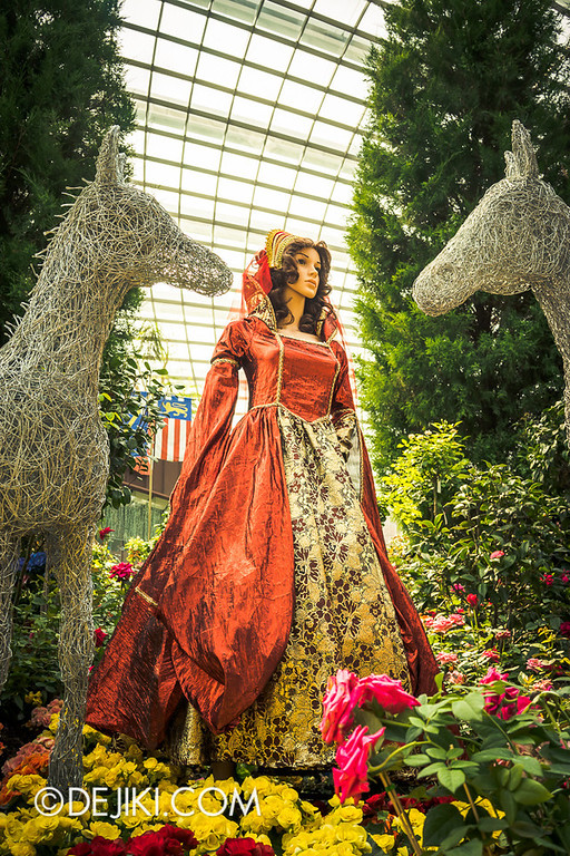 Gardens by the Bay - War of the Roses / Maidens