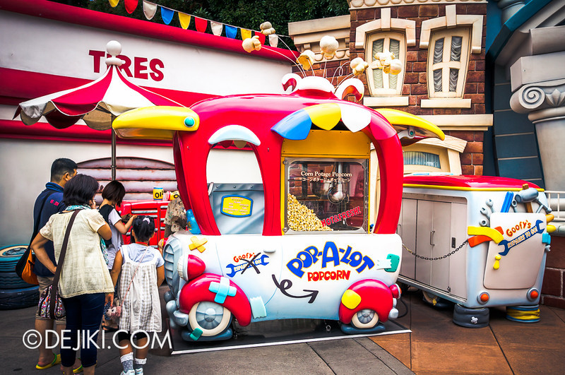 ToonTown - Popcorn Cart