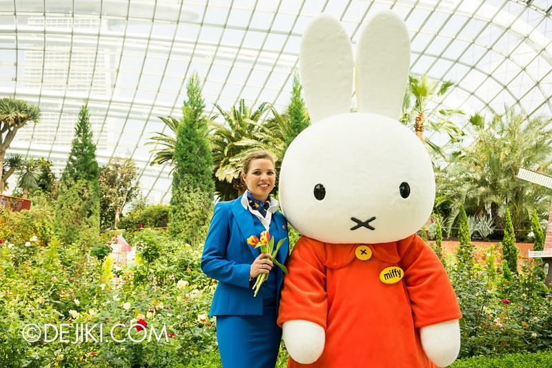 Miffy with KLM Flight Stewardess 3