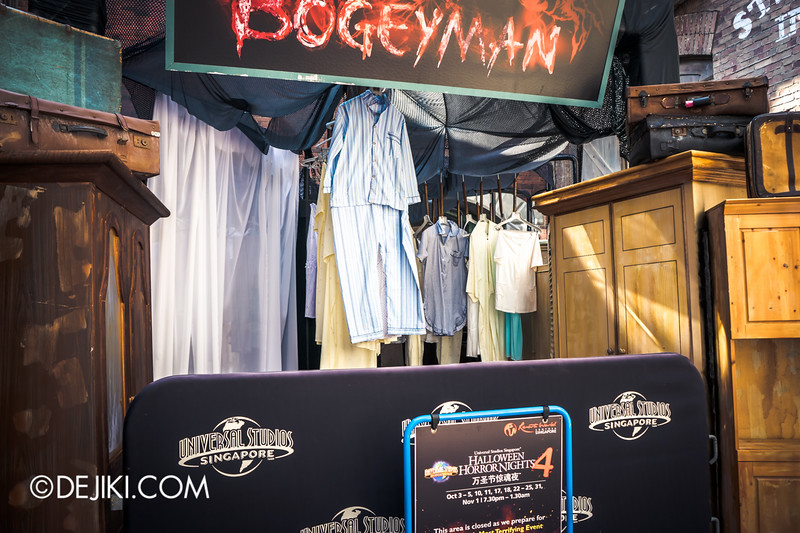 Halloween Horror Nights 4 Singapore - Before Dark 4 - Bogeyman 2