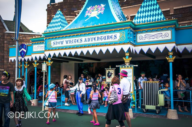 Snow White's Adventures - facade