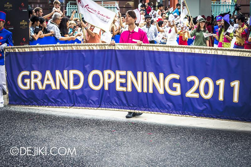 Universal Studios Singapore - Grand Opening 2011 - Parade 23