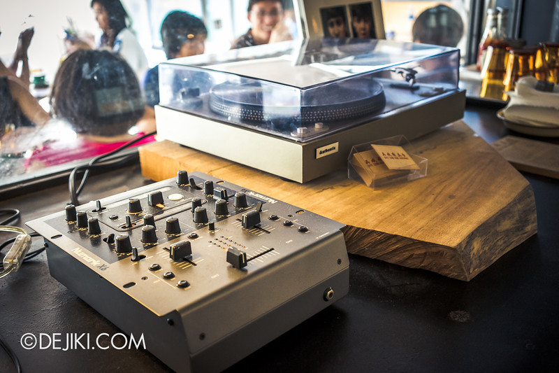 Chye Seng Huat Hardware Coffee Cafe Bar 7 - Vinyl player and audio console