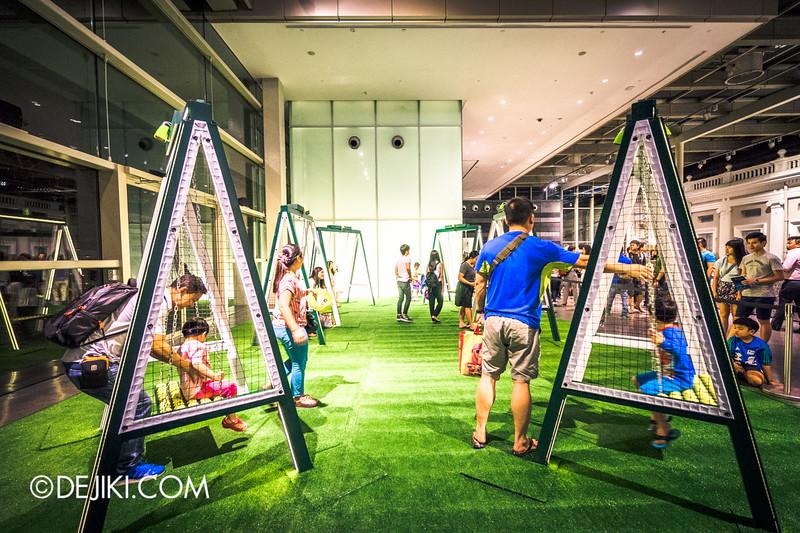 Singapore Night Festival 2015 - Tennis Swing
