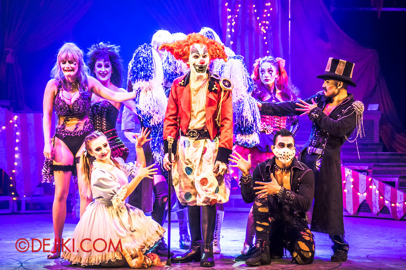Halloween Horror Nights 4 - Jack's Nightmare Circus - Revealing the new star of the show.. Jack the Clown! 3