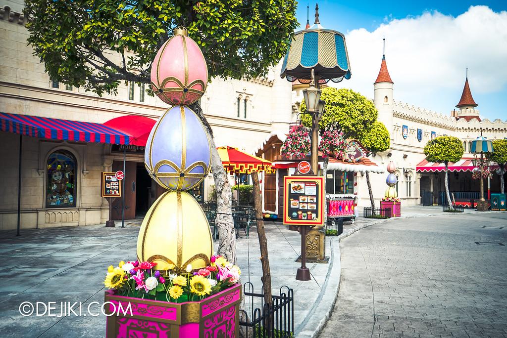 Universal Studios Singapore - Park Update March 2016 / Far Far Away Royal Eggs