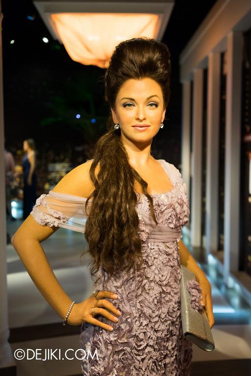 Madame Tussauds Singapore - Aishwarya Rai