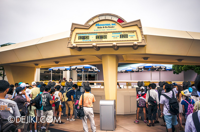 Monsters, Inc. Ride & Go Seek Fastpass Ticketing Madness 2
