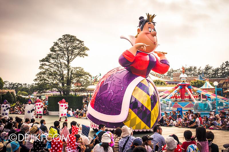 Tokyo Disneyland - Happiness is Here Parade 31 / Alice in Wonderland, Queen of Hearts