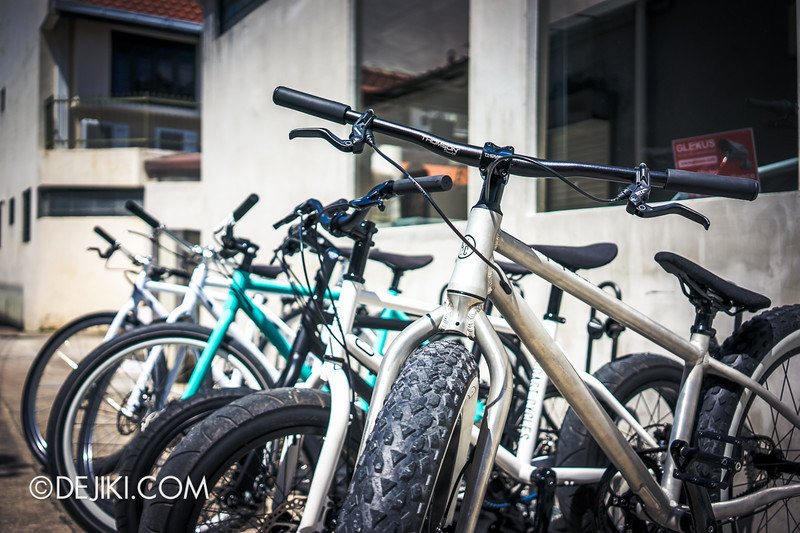 Coast and Company 25 - Bicycles outside
