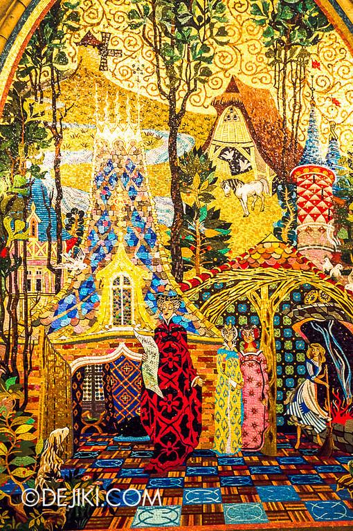 Cinderella's Fairy Tale Hall - Mosaic Mural