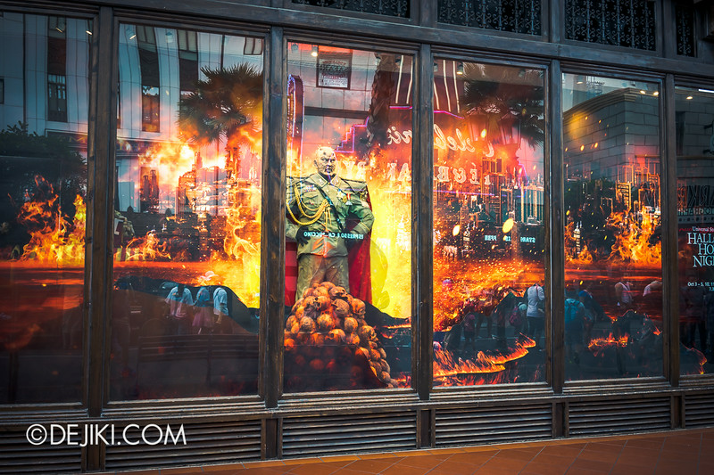Universal Studios Singapore - Park Update August 2014 - Minister of Evil invades the Universal Studios Store 1
