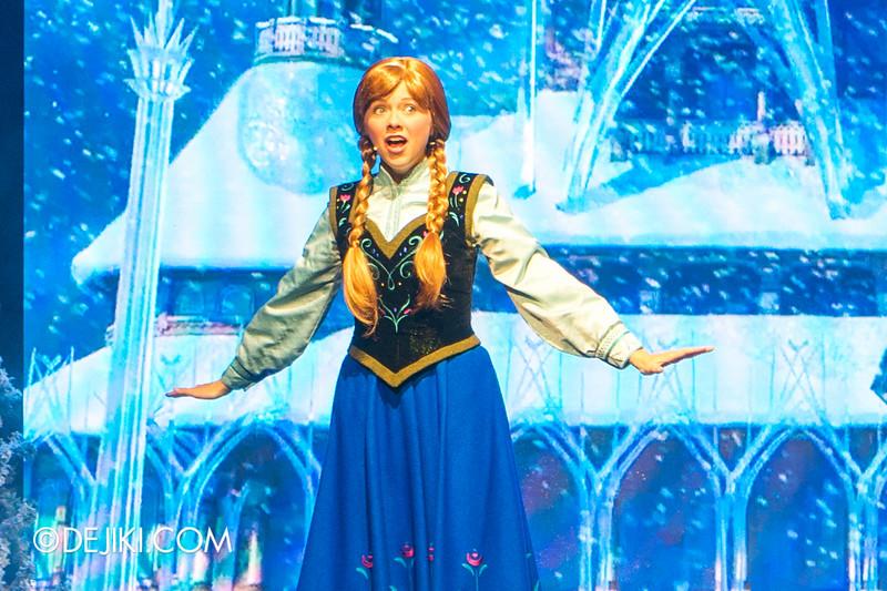 Hong Kong Disneyland - Frozen Village / Frozen Festival Show / Anna