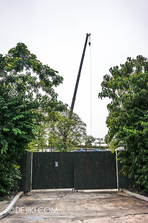 Universal Studios Singapore - Park Update July 2014 - New Attraction at Far Far Away Extension / Suspended Family Coaster 1