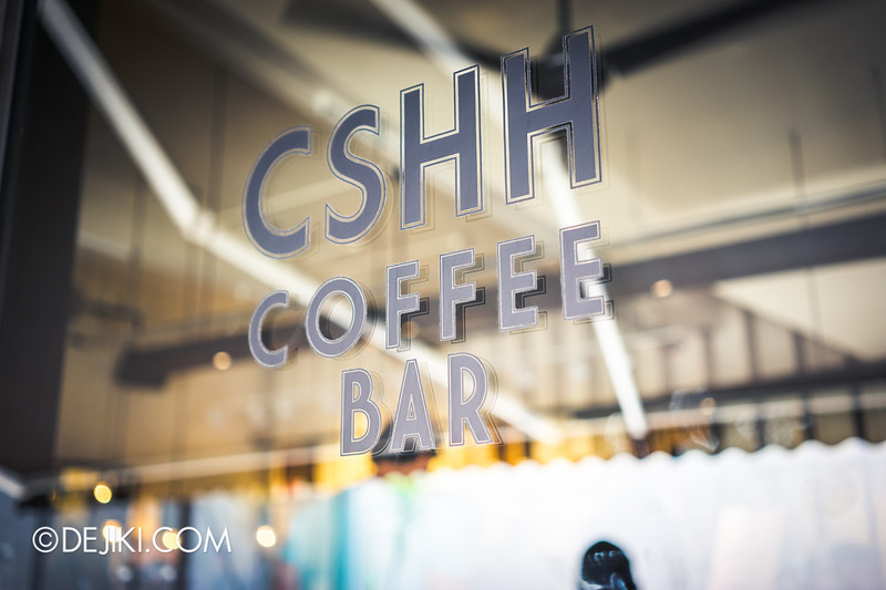 Chye Seng Huat Hardware Coffee Cafe Bar - The glass