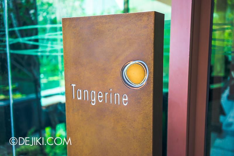 ESPA Tangerine - Entrance