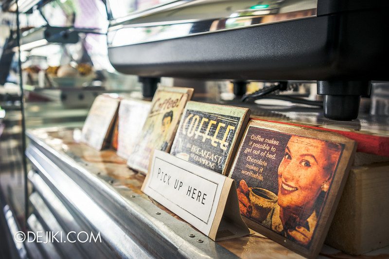 Tian Kee & Co. Cafe - Old-timey mini coffee posters