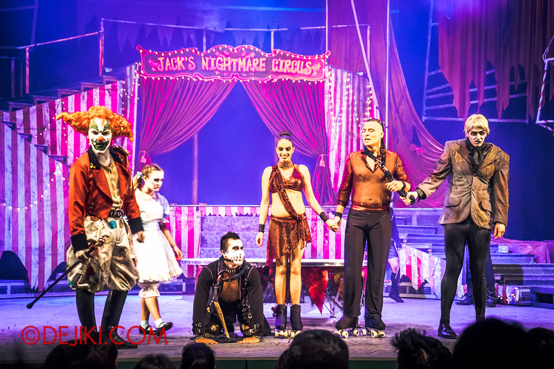 Halloween Horror Nights 4 - Jack's Nightmare Circus - Duo Skaters from Italy 9