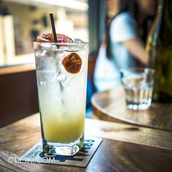 Paddy Hills cafe - yuzu effervescence
