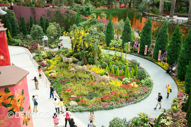 Gardens by the Bay - Year of the Horse Floral Display 2