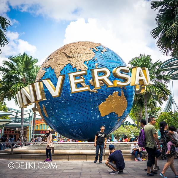 Universal Studios Singapore - Park Update April 2015 - Universal Globe