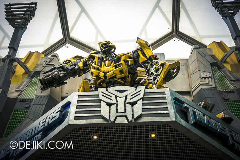 Universal Studios Singapore - Transformers marquee