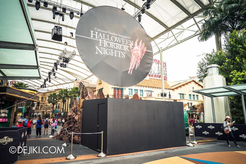 Universal Studios Singapore - Halloween Horror Nights 5 Before Dark Day Photo Report 3 - Behind the Blood Moon