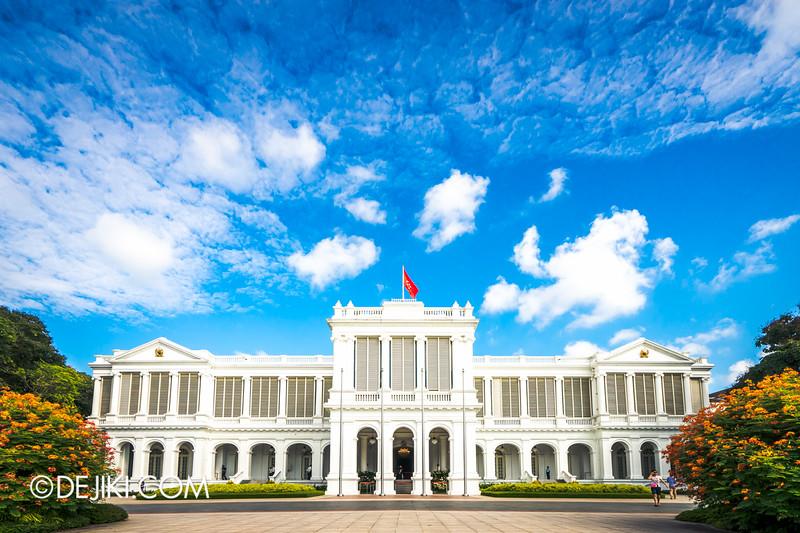 The Istana, Singapore - Istana Main Building, Grande Corrected Perspective Sky