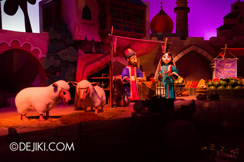 Sindbad's Storybook Voyage - The Village