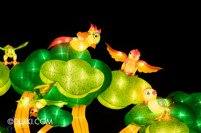 Gardens by the Bay - Mid-Autumn Festival at the Gardens 2014 - Birds of Paradise 1