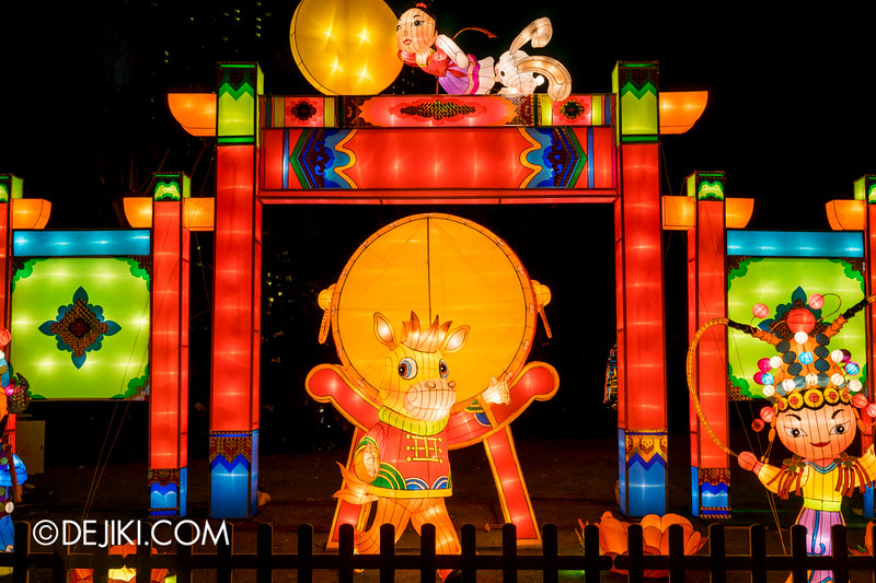 Gardens by the Bay - Mid-Autumn Festival at the Gardens 2014 - Lanterns / Racial Harmony in Singapore 2