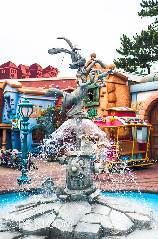 ToonTown - Roger Rabbit Fountain